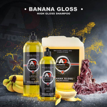 BANANA GLOSS pH-Semleges Autósampon