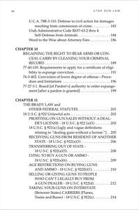 Utah Gun Law: 5th Edition Table of Contents 4
