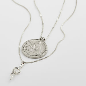 Sensitivity Necklace Silver