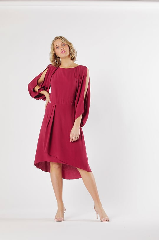 Marrakesh Cowl Back Dress