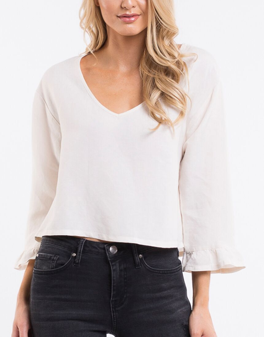 Lisa Ruffle Top