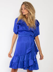 Places Dress Cobalt