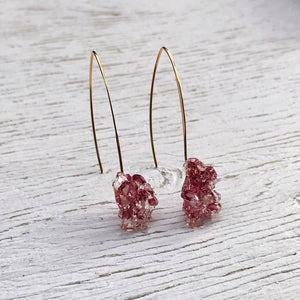 Pink Manuka Floragem Earrings 3