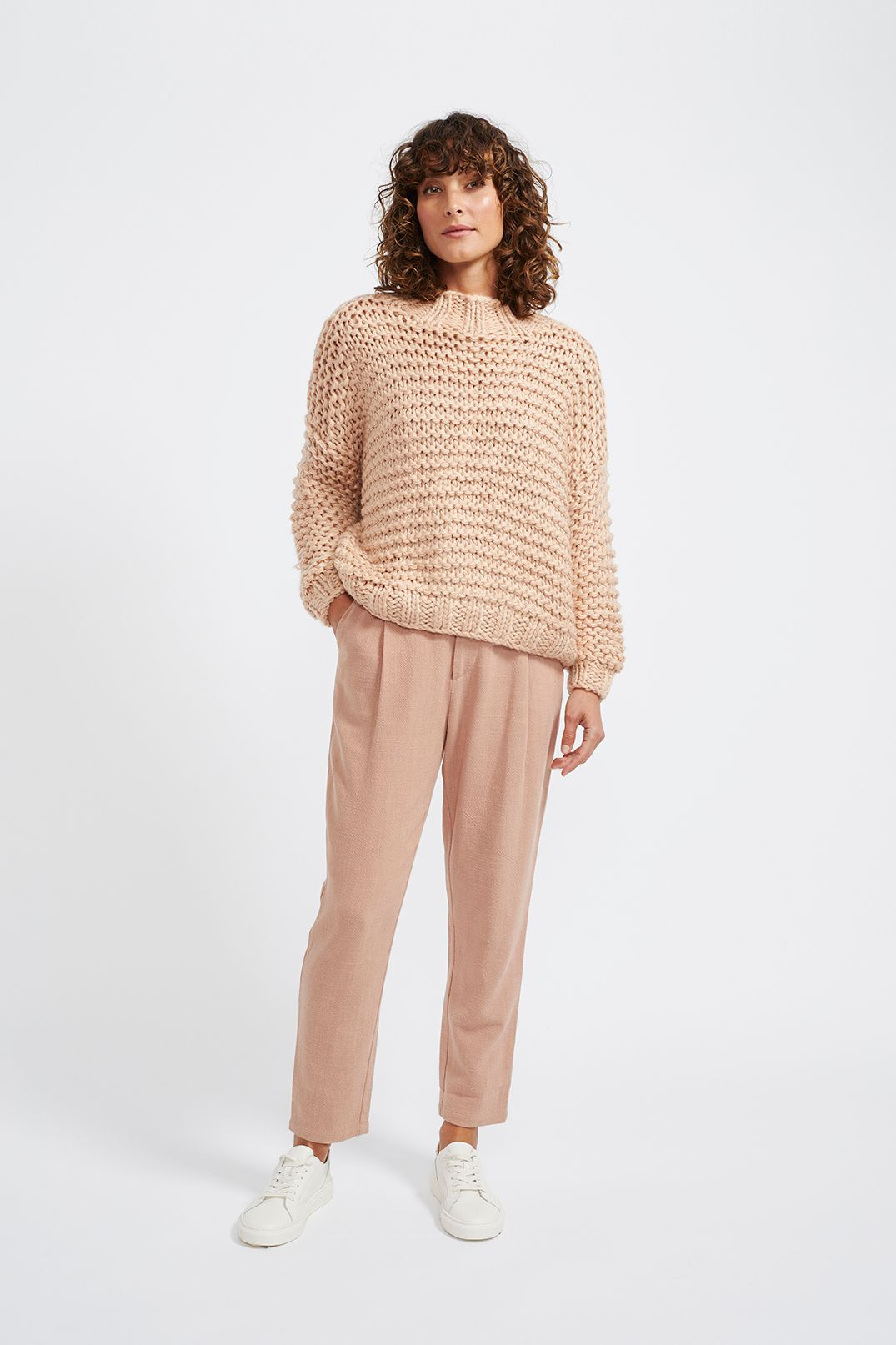 Tempo Jumper Dusty Pink