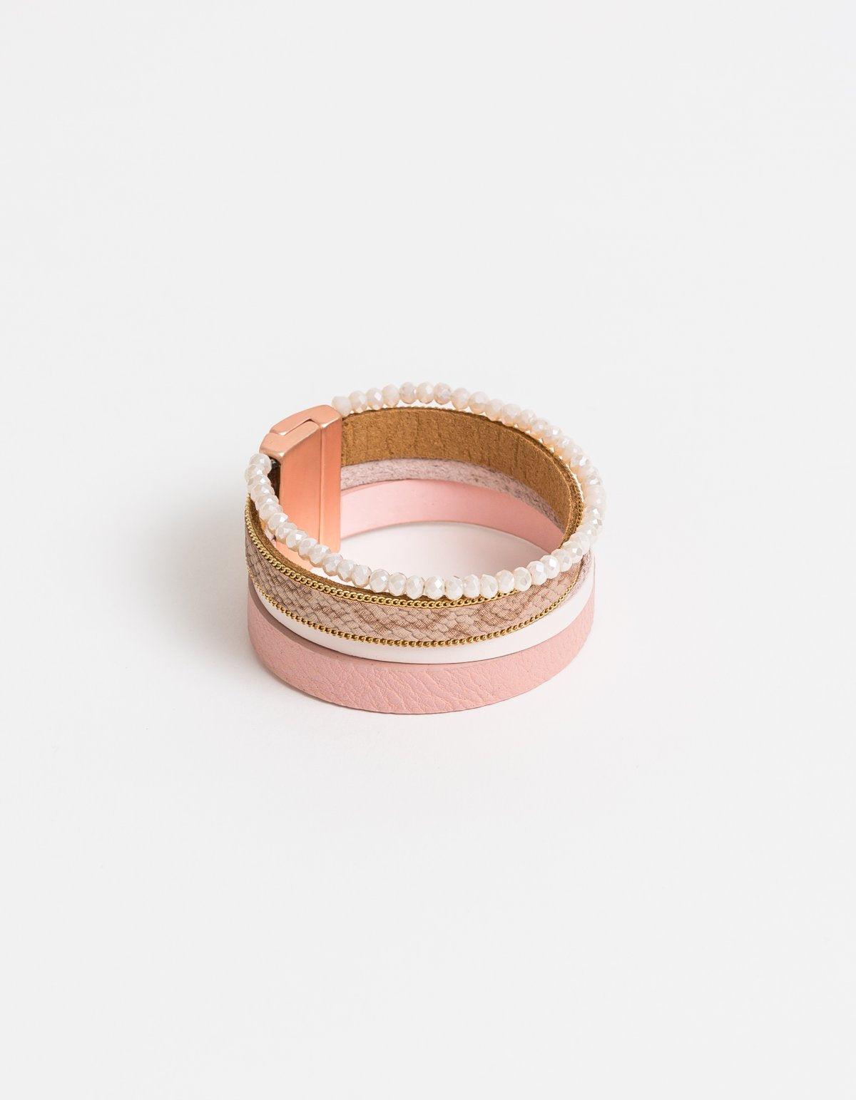 Wrap Bracelet Blush Gold