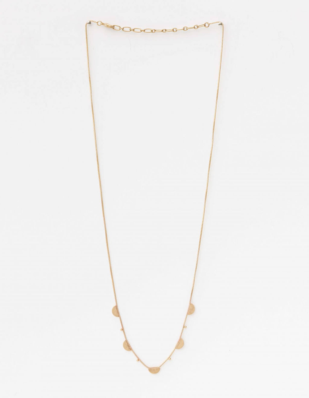 Necklace Small Moons Gold