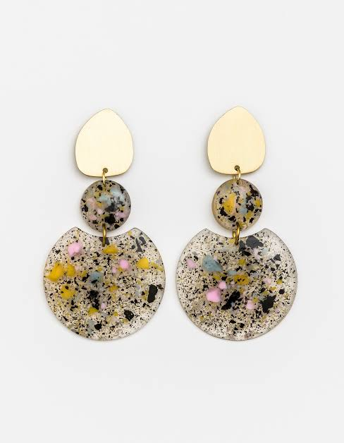 Earring Matra Spring Resin