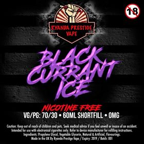 BLACKCURRANT ICE 60ml/120ml RTM