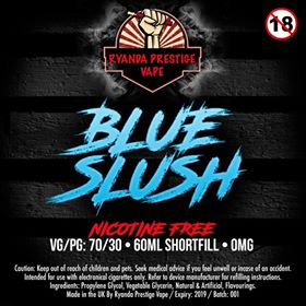 BLUE SLUSH 120ml RTM