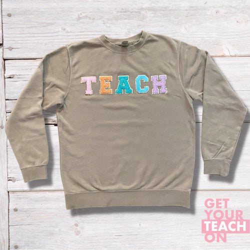 Teach Patch Sweatshirt