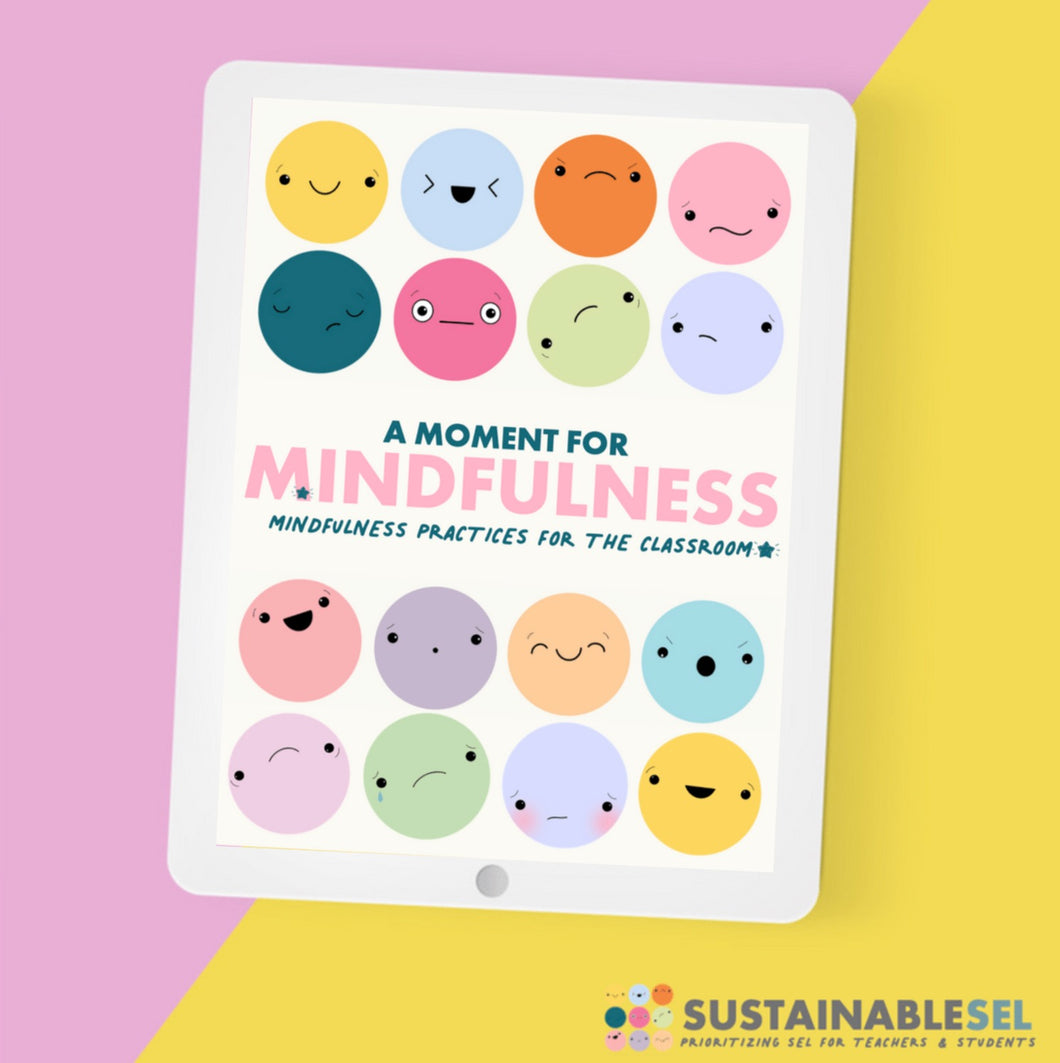 A Moment for Mindfulness - Mindfulness Cards