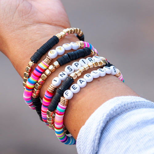 Fearless Stacked Bracelet Set
