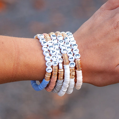 Believe Stacked Bracelet Set