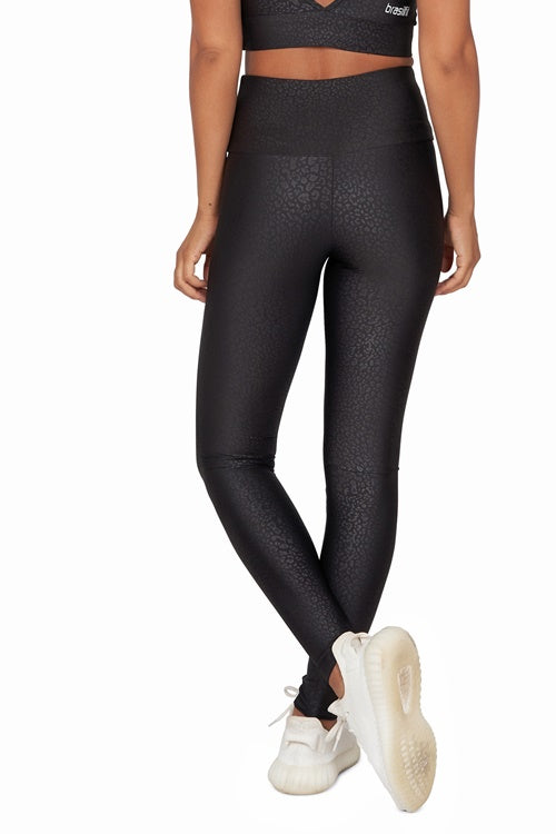 Alice Black High Waisted Full Length Legging