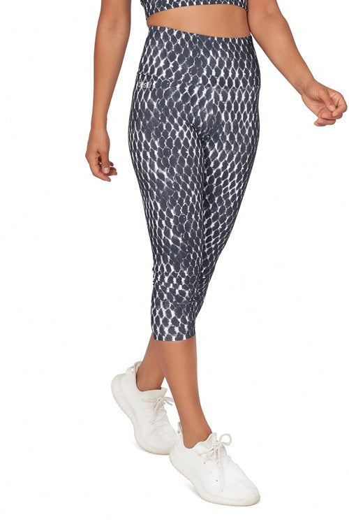 Serena High Waisted  Mid Calf Legging