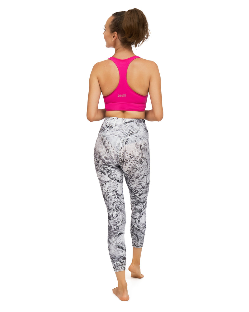 Mou High Waisted Mid Calf Legging
