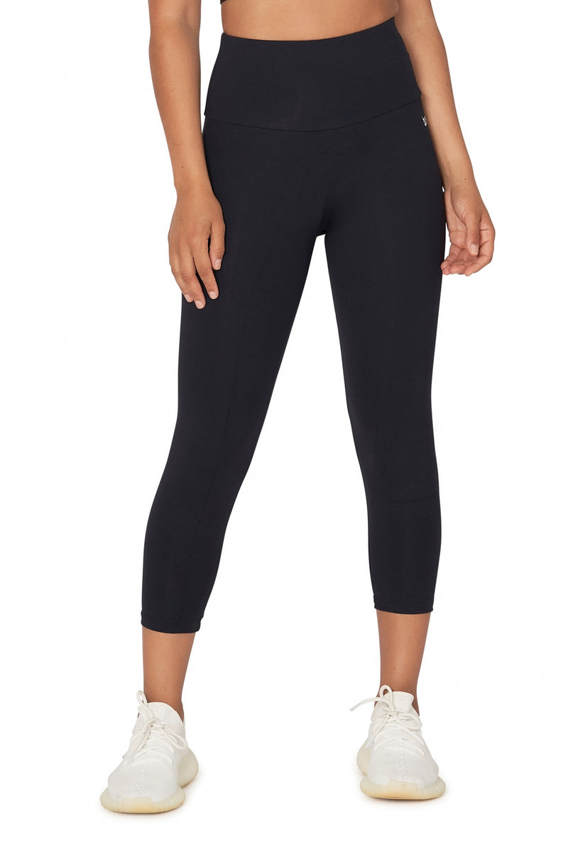 High Waisted Basic Xtreme Mid Calf Legging