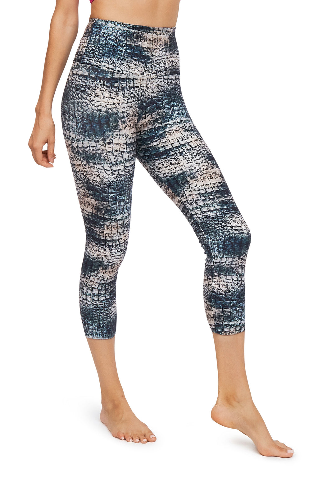 Berga High Waisted Mid Calf Legging