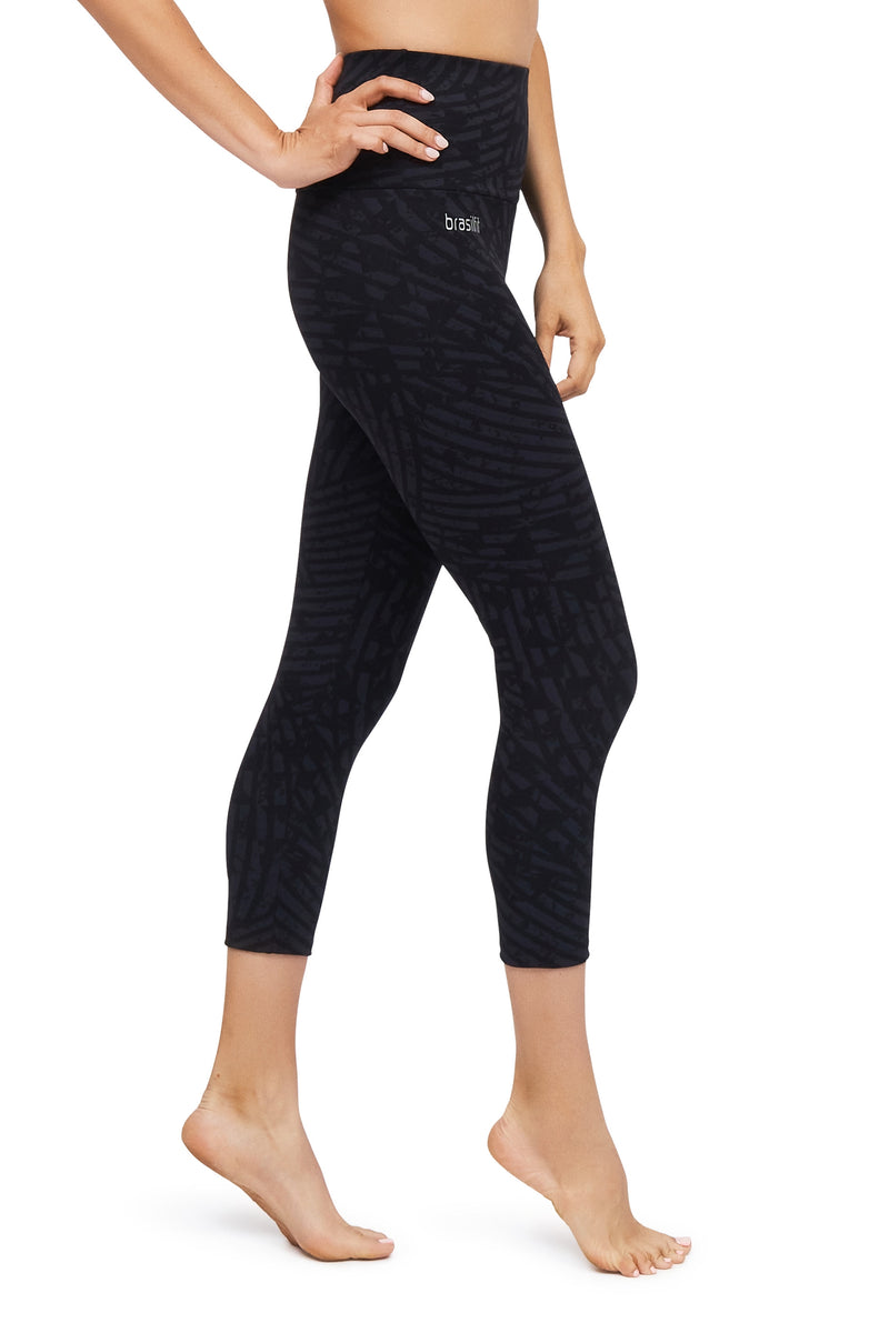 Dingle High Waisted Mid Calf Legging