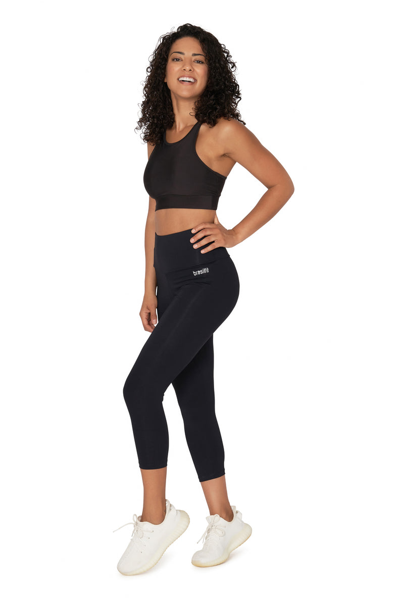 High Waisted Emana Mid Calf Legging