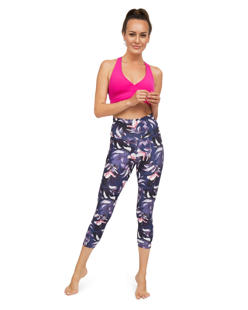 Lorca High Waisted Mid Calf Legging - Eco friendly