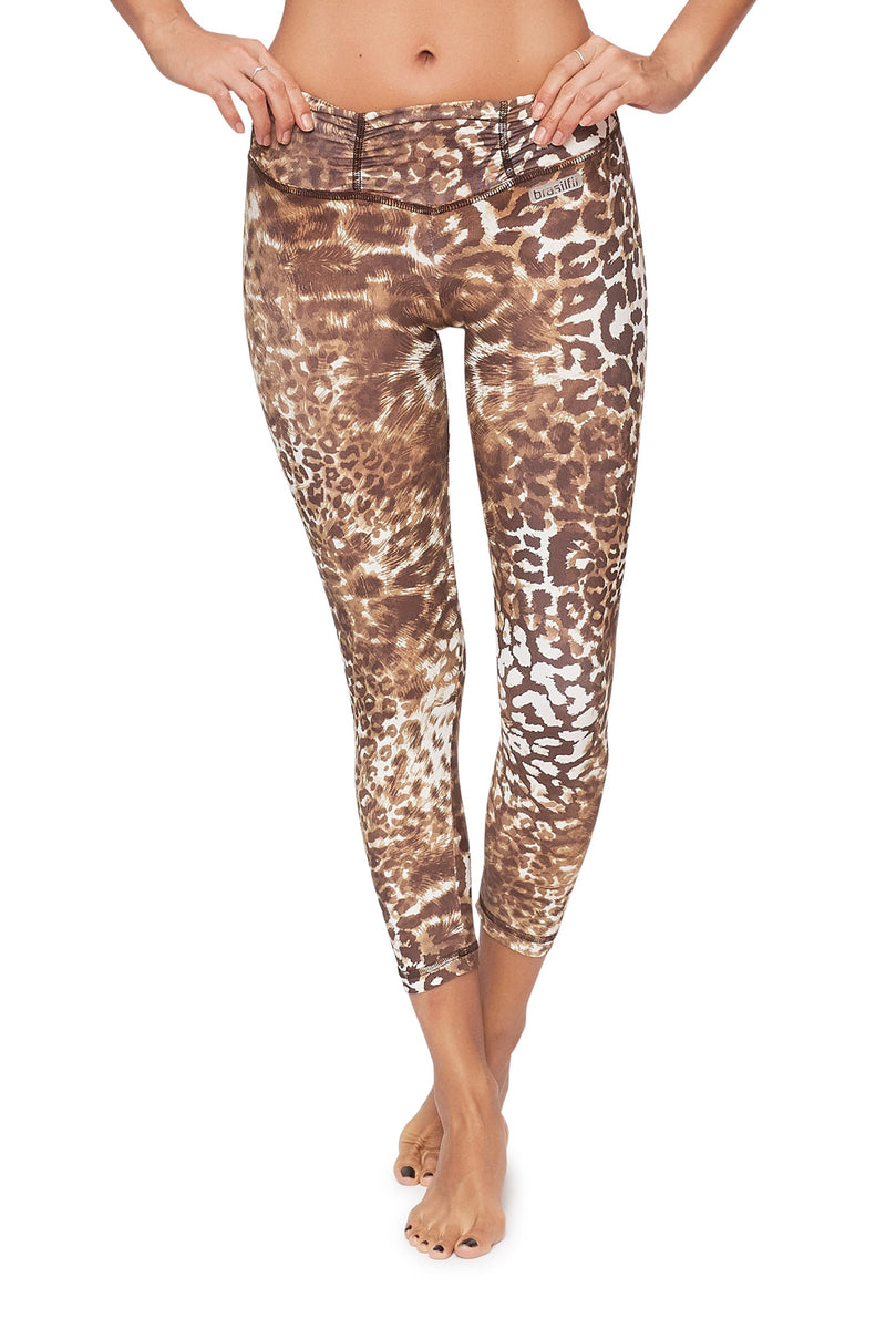 Desert Cheetah Mid Calf Legging