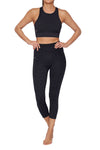 High Waisted Estrela Mid Calf Legging