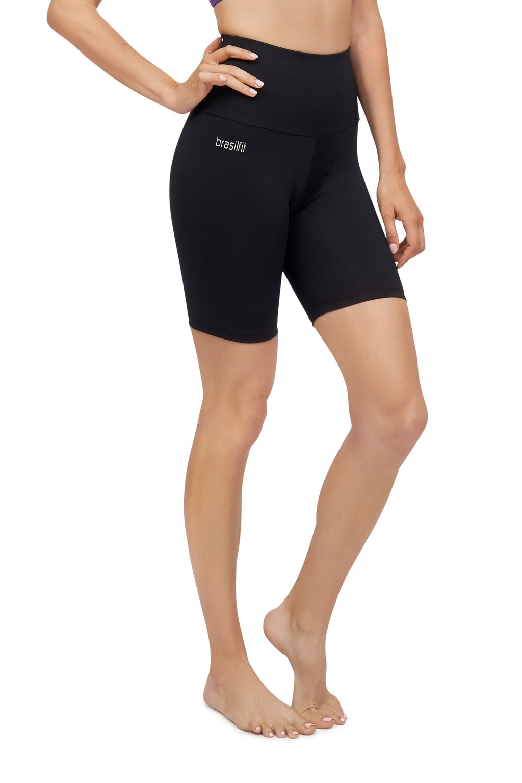 High Waisted Bike Shorts