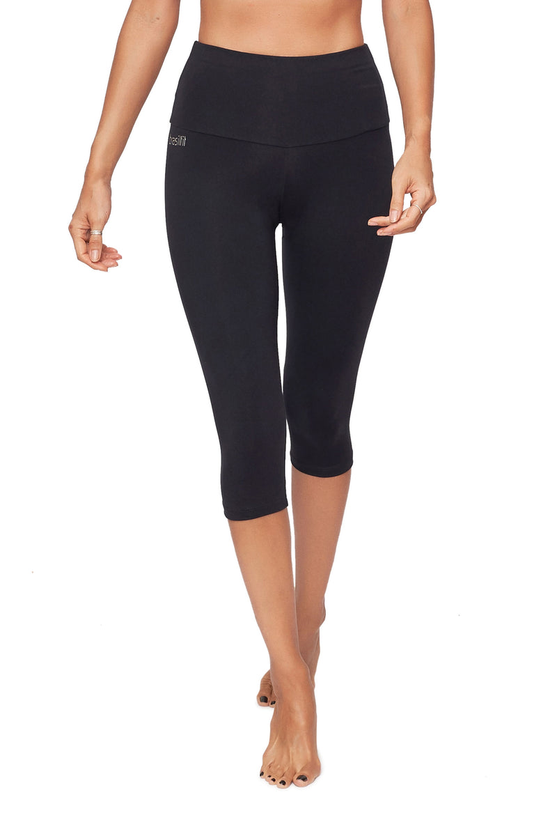 High-Waisted Supplex Under Knee Tights