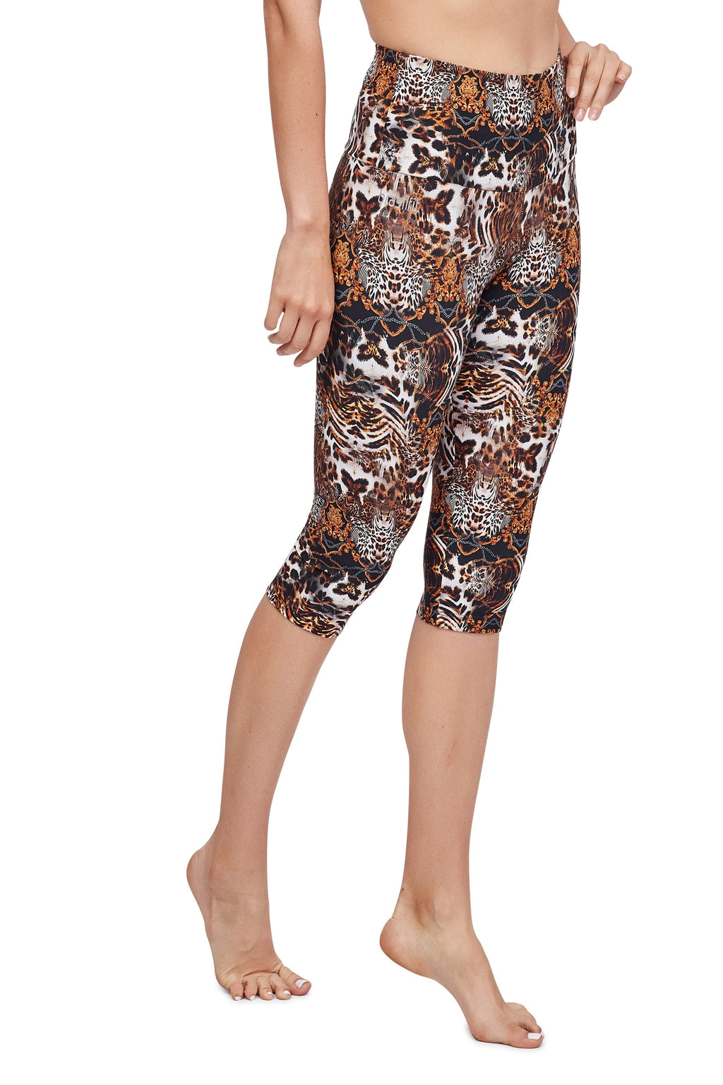 Animal Kingdom High Waisted  Under Knee