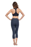 High Waisted Munich Mid Calf Legging