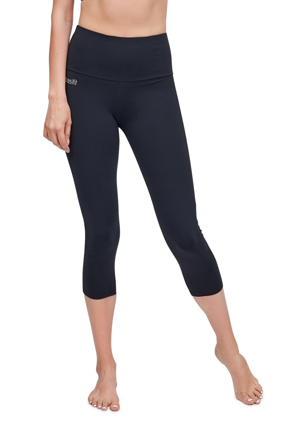 High Waisted Lodz Mid Calf Legging