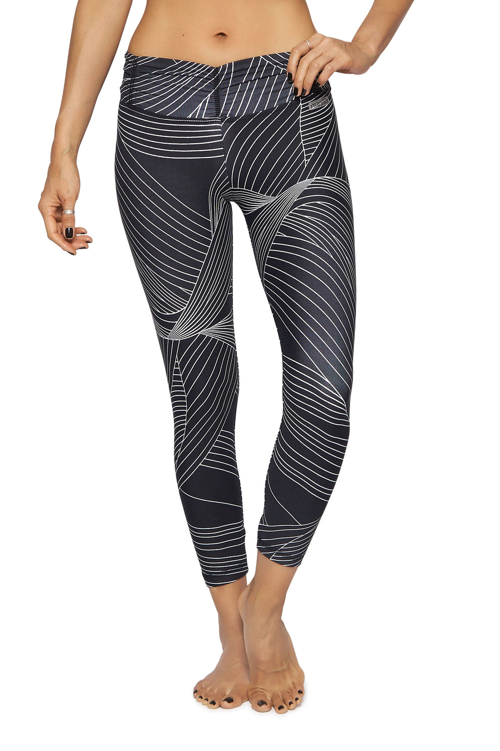 Dark Marina Mid Calf Legging