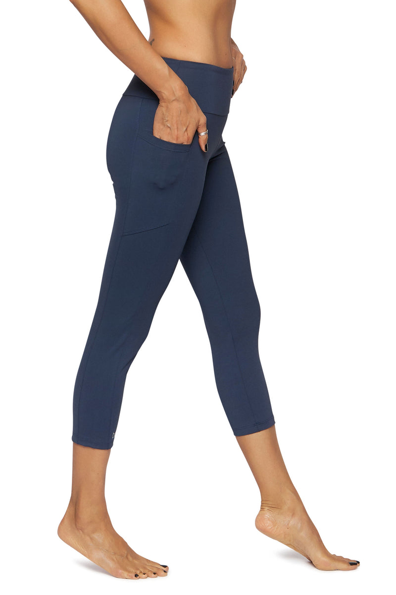 Mid Calf Legging with Pockets