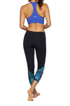 Black Rodes Mid Calf Legging
