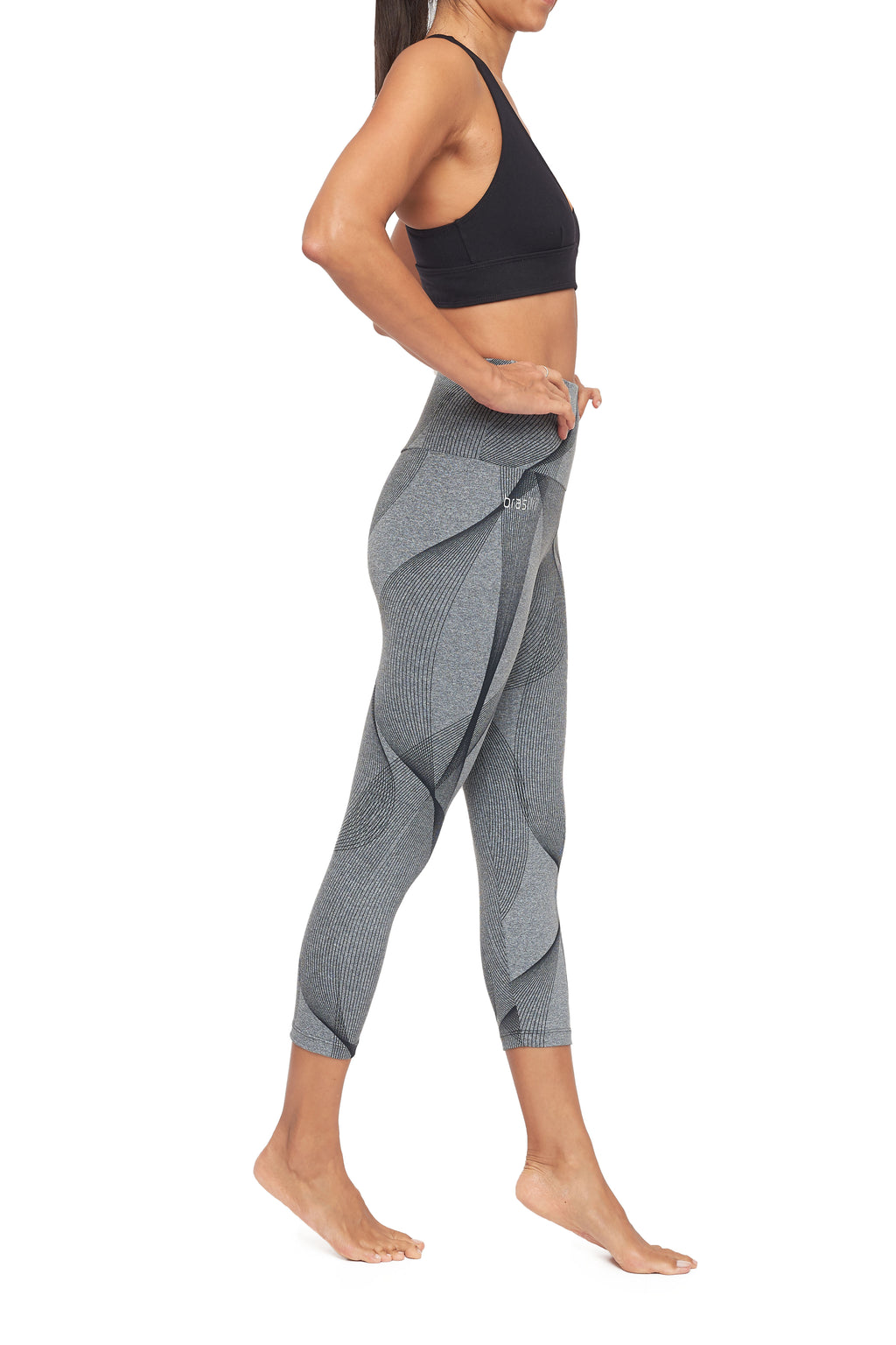Toledo High Waisted Mid Calf Legging