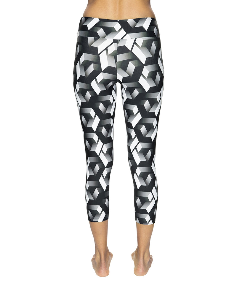 Legging Mid Calf Xtreme Labyrinth
