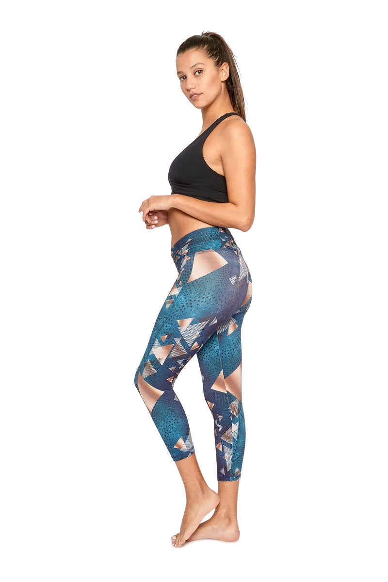 Green Envy Mid Calf Legging