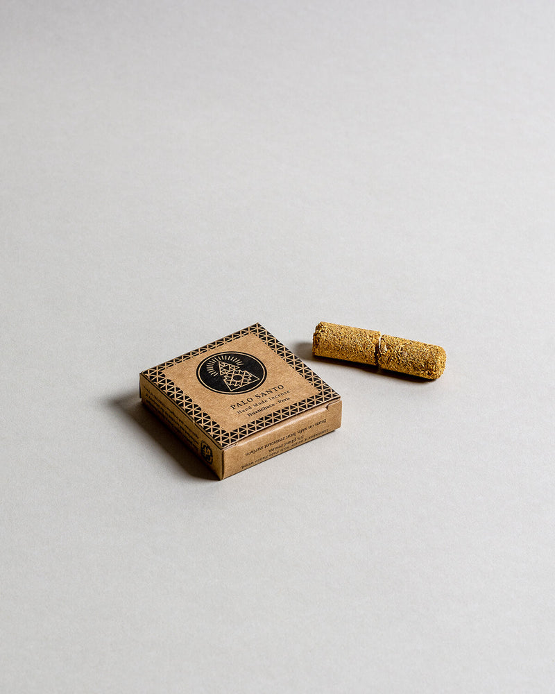 Palo Santo Hand-pressed Incense Box