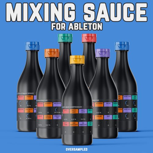 MIXING SAUCE For Ableton - Ultimate Ableton Effect Rack Pack