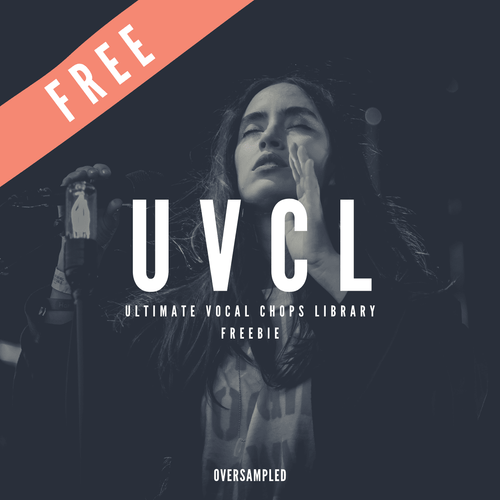Ultimate Vocal Chops Library Vol.1 - 25 Free Vocal Chops