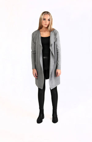 Double layer jumper Grey