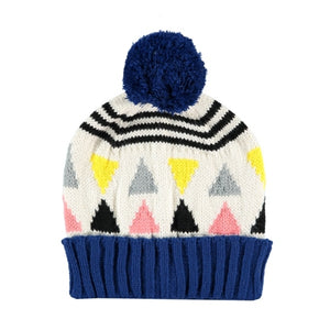 Triangle Beanie Cream