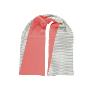 Graphic Scarf Pink