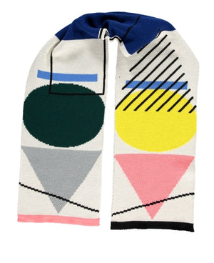 Shapes Scarf Multi