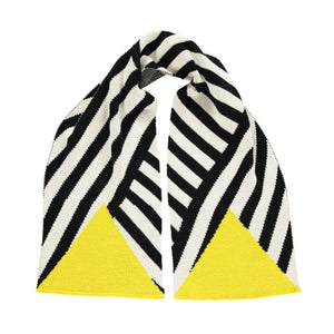 Stripe Scarf Black