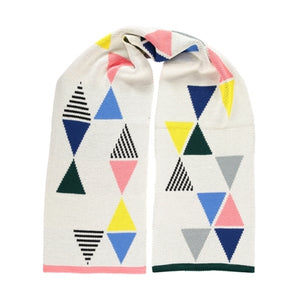 Triangle Scarf Cream