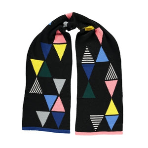 Triangle Scarf Black