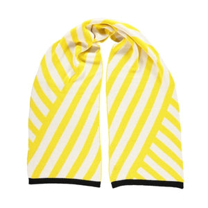 Stripe Scarf Yellow
