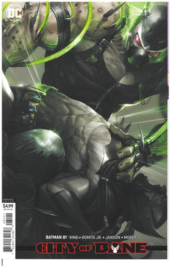 Batman #81 Francesco Mattina cardstock variant 2019
